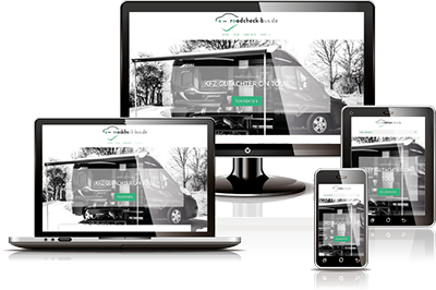 Vero. Online Marketing Projekte Webdesign Roadcheck-Bus